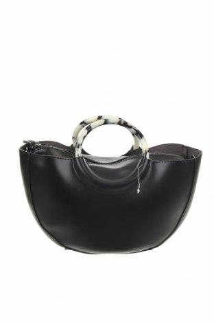 Γυναικεία τσάντα Reserved, Χρώμα Μαύρο, Δερματίνη, Τιμή 11,52€