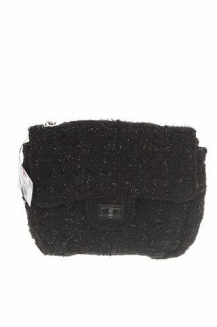 Γυναικεία τσάντα Reserved, Χρώμα Μαύρο, Κλωστοϋφαντουργικά προϊόντα, Τιμή 10,86€