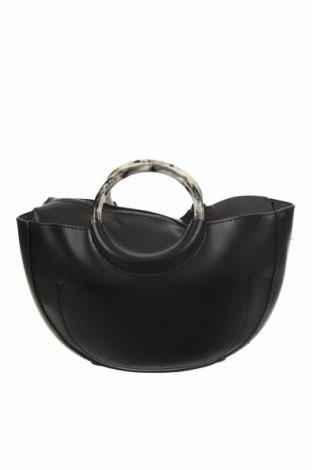 Дамска чанта Reserved, Цвят Черен, Еко кожа, Цена 20,65лв.