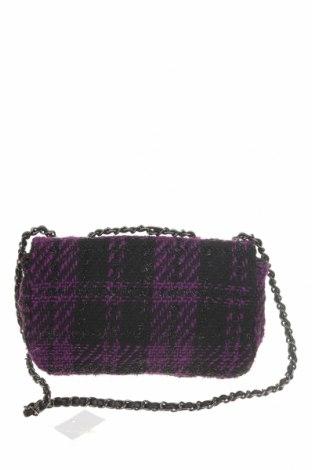 Дамска чанта Reserved, Цвят Лилав, Текстил, Цена 18,62лв.