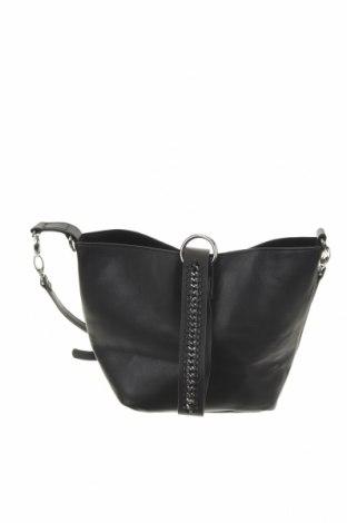 Дамска чанта Reserved, Цвят Черен, Еко кожа, Цена 52,00лв.