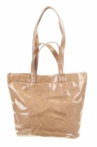 Γυναικεία τσάντα Reserved, Χρώμα  Μπέζ, Πολυουρεθάνης, Τιμή 11,52€