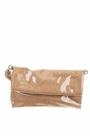 Дамска чанта Reserved, Цвят Бежов, Полиуретан, Цена 17,15лв.