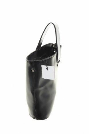 Дамска чанта Reserved, Цвят Черен, Еко кожа, Цена 23,60лв.
