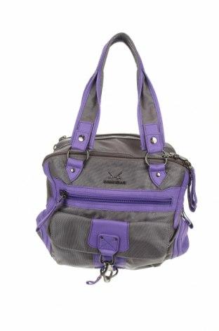 Дамска чанта Sansibar, Цвят Сив, Текстил, Цена 31,40лв.