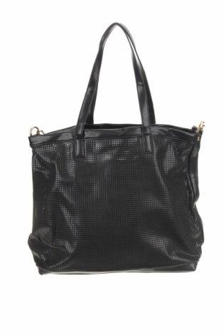 Γυναικεία τσάντα Sinsay, Χρώμα Μαύρο, Δερματίνη, Τιμή 12,16€