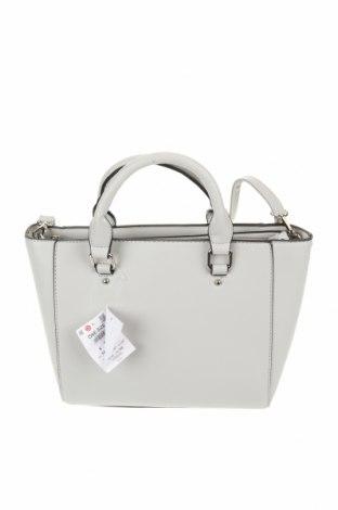 Дамска чанта Sinsay, Цвят Сив, Еко кожа, Цена 49,00лв.
