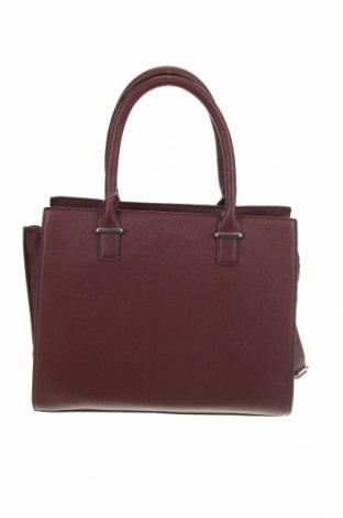 Дамска чанта Sinsay, Цвят Червен, Еко кожа, Цена 59,00лв.