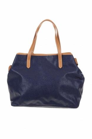 Дамска чанта Timberland, Цвят Син, Еко кожа, естествена кожа, Цена 164,25лв.