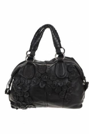 Γυναικεία τσάντα Tosca Blu, Χρώμα Μαύρο, Γνήσιο δέρμα, Τιμή 41,29€