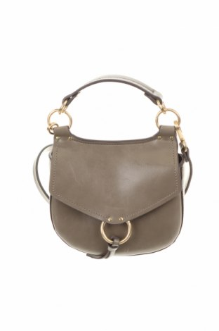 Γυναικεία τσάντα Zara, Χρώμα Γκρί, Δερματίνη, Τιμή 19,49€