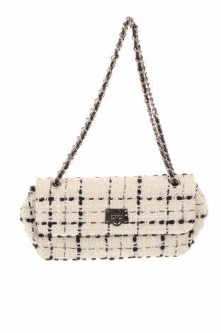 Γυναικεία τσάντα Zara, Χρώμα  Μπέζ, Κλωστοϋφαντουργικά προϊόντα, Τιμή 19,02€
