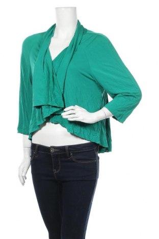 Дамска жилетка, Размер XL, Цвят Зелен, Полиестер, Цена 5,85лв.