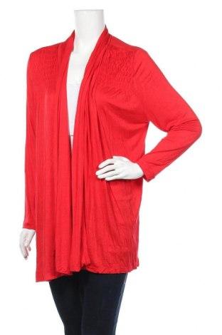 Дамска жилетка, Размер XL, Цвят Червен, 95% вискоза, 5% еластан, Цена 21,74лв.