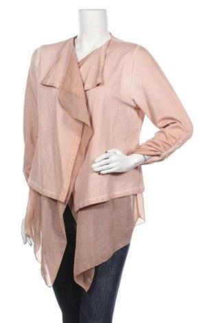 Дамска жилетка, Размер M, Цвят Розов, 96% памук, 4% еластан, Цена 6,30лв.