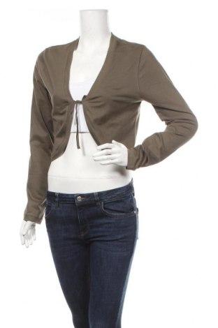 Дамска жилетка, Размер L, Цвят Зелен, 95% памук, 5% еластан, Цена 6,83лв.