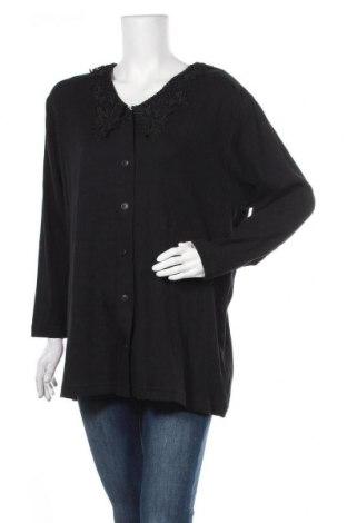 Дамска жилетка, Размер XL, Цвят Черен, 95% памук, 5% еластан, Цена 9,98лв.