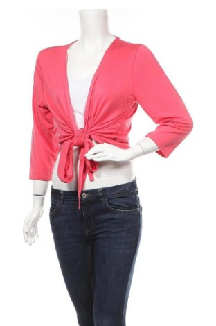 Γυναικεία ζακέτα Adia, Μέγεθος L, Χρώμα Ρόζ , 95% βισκόζη, 5% ελαστάνη, Τιμή 8,87€