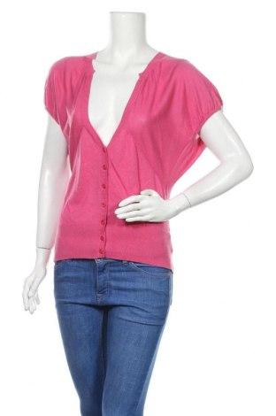 Дамска жилетка Boss Orange, Размер S, Цвят Розов, 85% коприна, 15% кашмир, Цена 84,00лв.