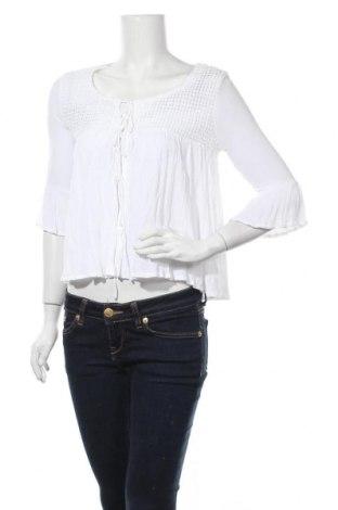Дамска жилетка Fb Sister, Размер XS, Цвят Бял, Вискоза, Цена 5,59лв.