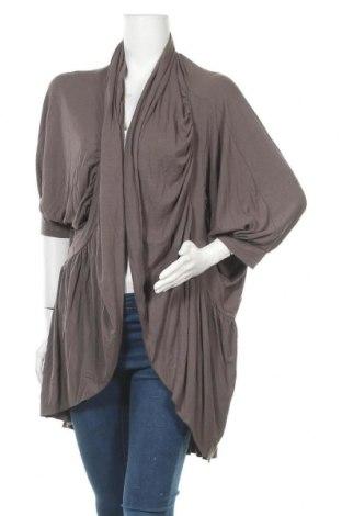 Дамска жилетка, Размер XL, Цвят Кафяв, 94% вискоза, 6% еластан, Цена 10,36лв.