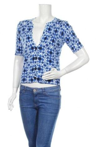 Дамска жилетка Jones New York, Размер S, Цвят Син, 99% памук, 1% други тъкани, Цена 5,95лв.