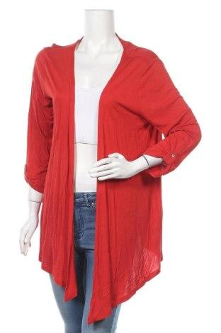 Дамска жилетка Mark Adam, Размер XL, Цвят Червен, Вискоза, Цена 13,86лв.