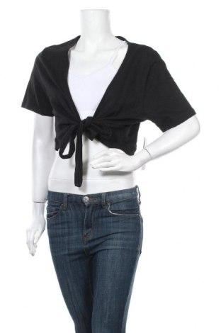 Γυναικεία ζακέτα Michele Boyard, Μέγεθος XL, Χρώμα Μαύρο, Βαμβάκι, Τιμή 7,73€