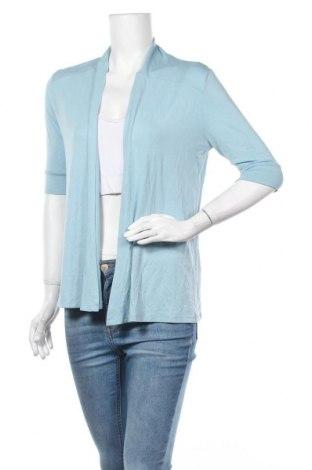 Γυναικεία ζακέτα Michele Boyard, Μέγεθος M, Χρώμα Μπλέ, 95% βισκόζη, 5% ελαστάνη, Τιμή 8,77€