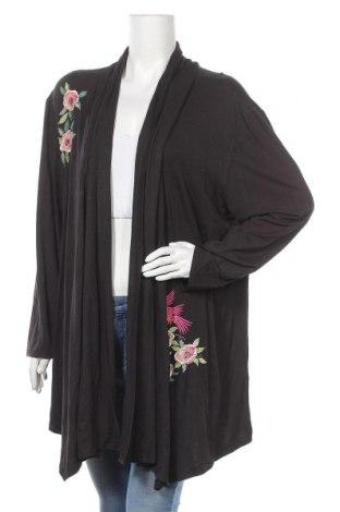 Дамска жилетка My Style, Размер XL, Цвят Сив, 95% вискоза, 5% еластан, Цена 25,20лв.