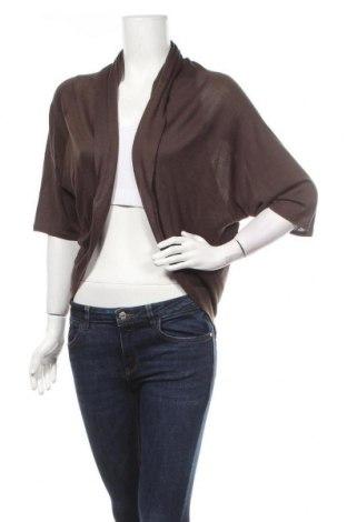 Дамска жилетка My Style, Размер XXL, Цвят Кафяв, Вискоза, Цена 18,43лв.