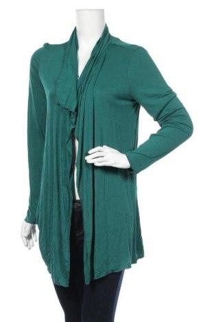 Дамска жилетка Tom Tailor, Размер L, Цвят Зелен, Вискоза, Цена 11,29лв.