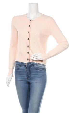Γυναικεία ζακέτα Zara Knitwear, Μέγεθος S, Χρώμα Ρόζ , 82% βισκόζη, 16% πολυαμίδη, 2% ελαστάνη, Τιμή 14,25€