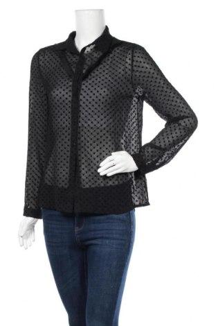 Дамска риза Ada Gatti, Размер M, Цвят Черен, Полиестер, Цена 11,80лв.