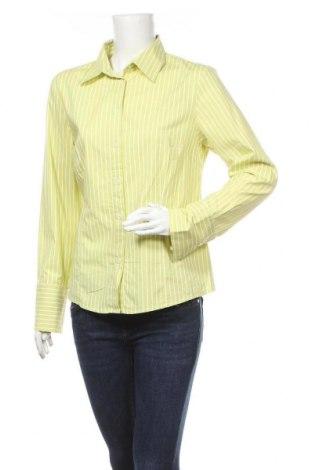 Дамска риза B.C. Best Connections, Размер XL, Цвят Зелен, 97% памук, 3% еластан, Цена 5,67лв.