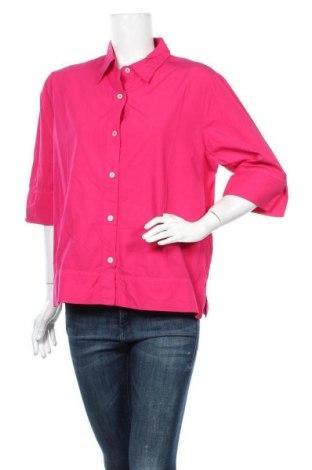 Дамска риза Blue Illusion, Размер XL, Цвят Розов, 100% памук, Цена 13,23лв.