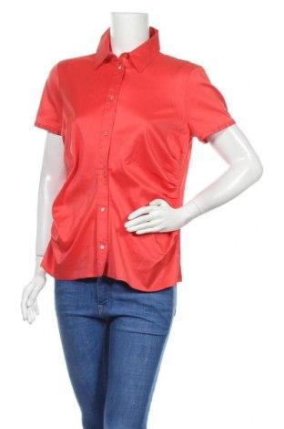 Dámská košile  Boss, Velikost XL, Barva Červená, 63% bavlna, 37% polyester, Cena  497,00Kč