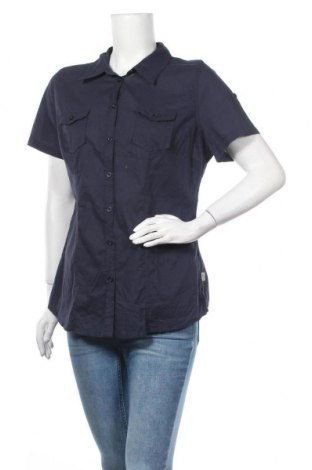 Γυναικείο πουκάμισο Boysen's, Μέγεθος XL, Χρώμα Μπλέ, Βισκόζη, Τιμή 11,04€