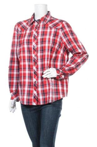 Дамска риза Collection L, Размер XXL, Цвят Многоцветен, 52% полиестер, 48% памук, Цена 17,96лв.