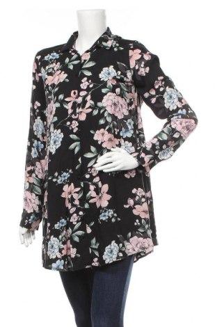 Γυναικείο πουκάμισο Defacto, Μέγεθος M, Χρώμα Μαύρο, Τιμή 10,91€