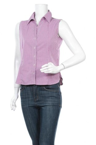 Дамска риза Designer S, Размер M, Цвят Лилав, 70% памук, 27% полиестер, 3% еластан, Цена 10,40лв.
