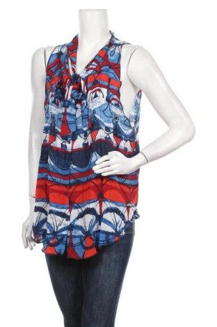 Дамска риза Desigual, Размер L, Цвят Многоцветен, Вискоза, Цена 74,25лв.