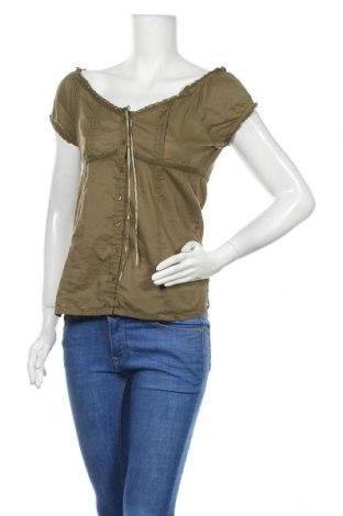 Γυναικείο πουκάμισο Eve, Μέγεθος M, Χρώμα Πράσινο, Βαμβάκι, Τιμή 9,94€