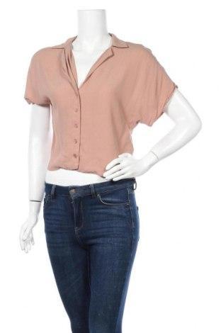 Γυναικείο πουκάμισο Forever 21, Μέγεθος S, Χρώμα  Μπέζ, Βισκόζη, Τιμή 9,74€