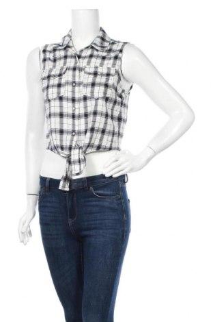 Γυναικείο πουκάμισο Forever 21, Μέγεθος S, Χρώμα Μαύρο, 95% βαμβάκι, 1% ελαστάνη, Τιμή 9,74€