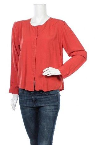 Дамска риза Fransa, Размер XL, Цвят Червен, Вискоза, Цена 12,50лв.