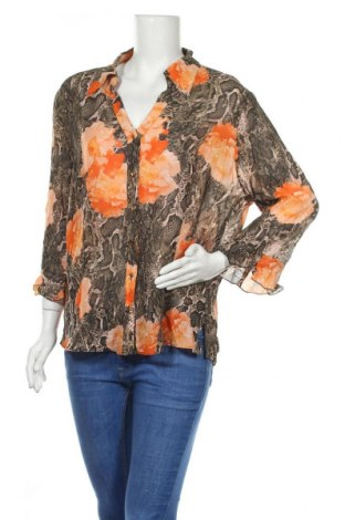 Дамска риза G.W., Размер XL, Цвят Многоцветен, Вискоза, Цена 24,70лв.
