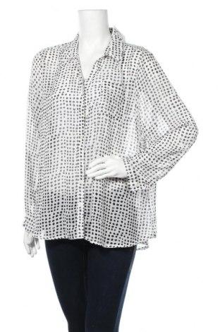 Γυναικείο πουκάμισο Gina Laura, Μέγεθος XL, Χρώμα Λευκό, Τιμή 3,64€