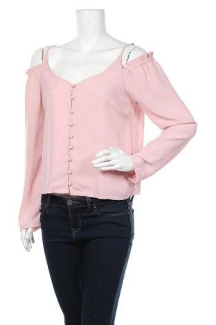 Дамска риза Glamorous, Размер L, Цвят Розов, Цена 17,85лв.