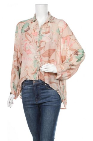Дамска риза Glassons, Размер XL, Цвят Многоцветен, Полиестер, Цена 18,90лв.